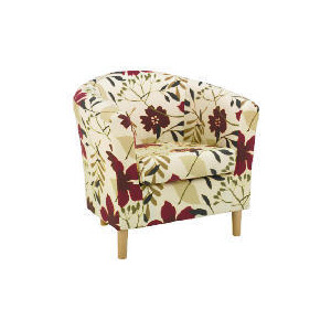 Photo of Southwold Occasional Chair, Tropical Floral Furniture