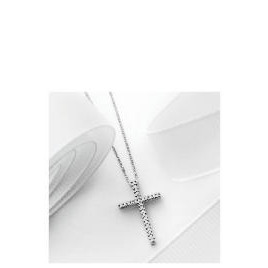 9ct White Gold 10 point Diamond Cross Pendant Reviews