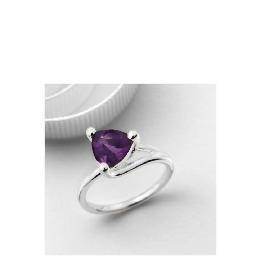Silver Purple Cubic Zirconia Ring Reviews