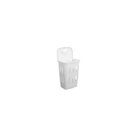 Tesco 45L value laundry hamper in white
