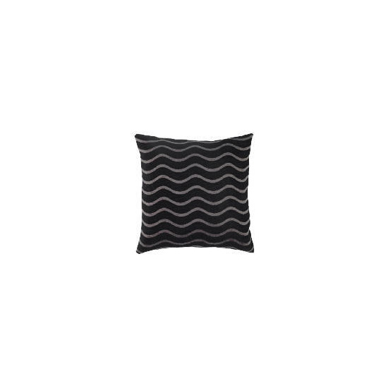 Tesco Waves Chenille Cushion