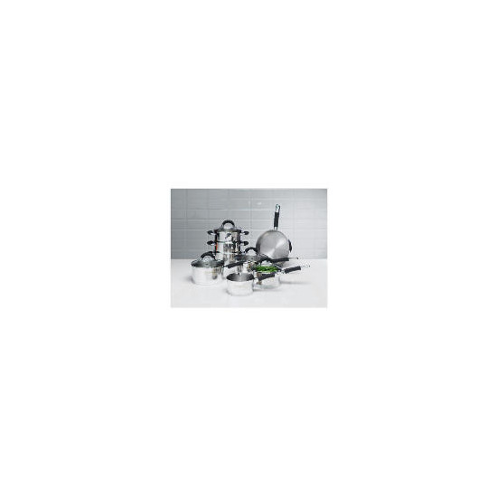 8 piece Antony Worrall Thompson Fusion set w/steamer