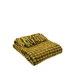 Tesco Woven Boucle Throw Green, Hudson Reviews