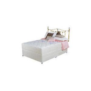 Photo of Silentnight Miracoil Pocket 3-Zone Latex Houston King 4 Drawer Divan Set Bedding