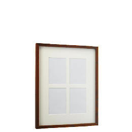 Tesco Block Dark Wood Frame 4 Aperture Reviews