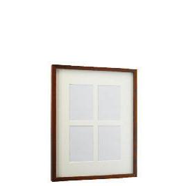Tesco Block Dark Wood Frame 4 Aperture Reviews