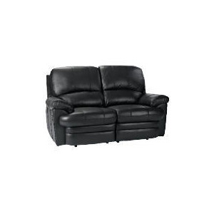 Photo of Apollo Leather Recliner Sofa, Black Furniture