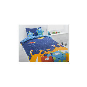 Photo of Tesco Kids Cheeky Monsters Single Duvet Bed Linen