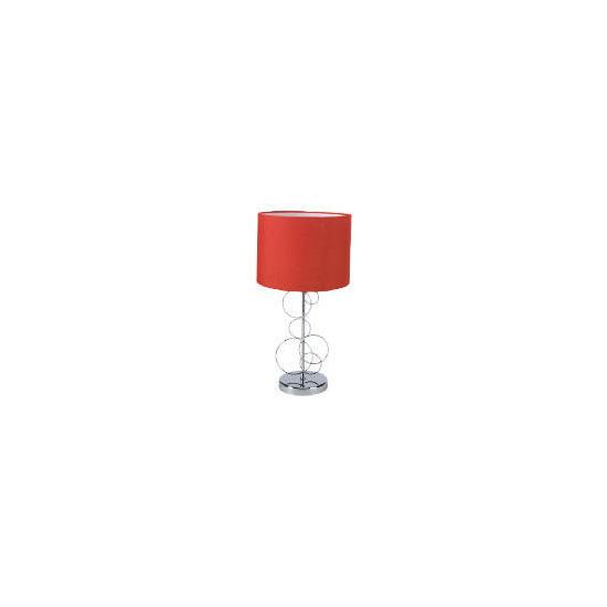 Tesco Stainless Steel Circles Lamp