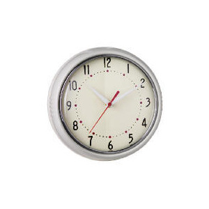 Photo of Tesco Retro Cream Clock Clock