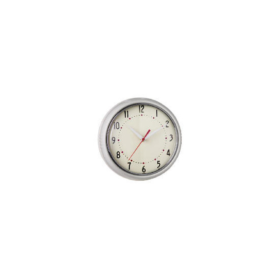 Tesco Retro Cream Clock