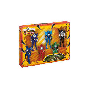 Photo of Power Rangers Jungle Fury 6 Figure Set Exclusive Toy