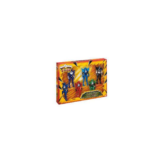 Power Rangers Jungle Fury 6 Figure Set Exclusive