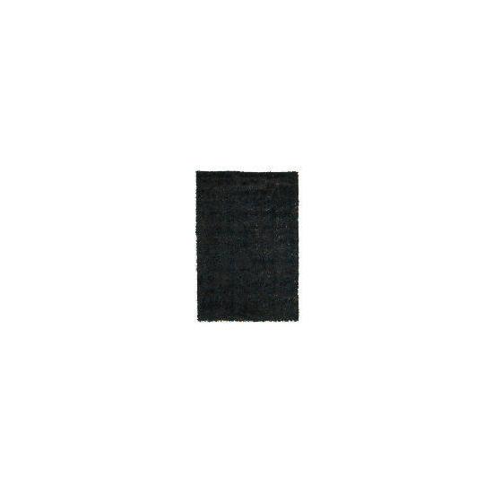 Tesco Polyester Shaggy Rug, Teal 80x150cm