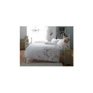 Photo of Elspeth Gibson Blossom Duvet Set Kingsize, White Bed Linen