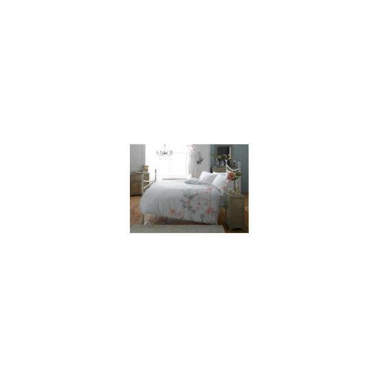 Elspeth Gibson Blossom Duvet Set Kingsize, White