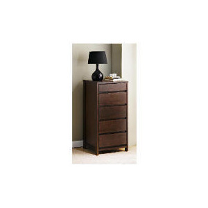 Photo of Monzora Tall Chest, Dark Oak Furniture