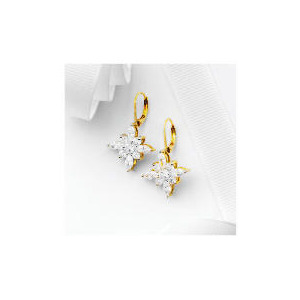 Photo of Pave Spring Blossom Earrings Jewellery Woman