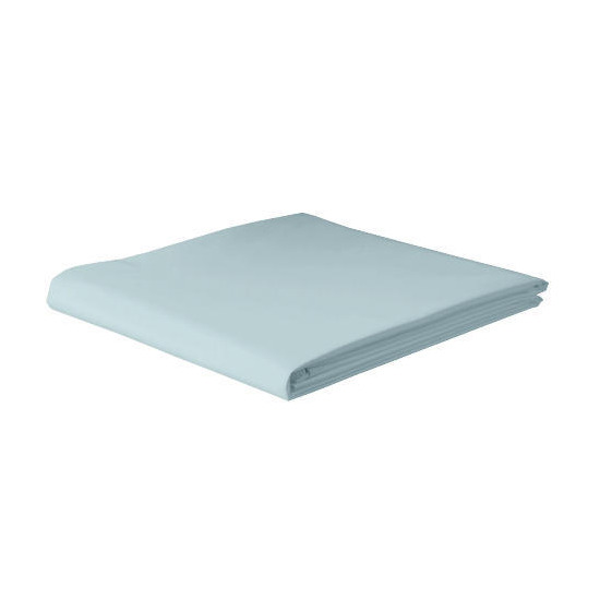 Tesco 100% cotton fitted sheet Kingsize, Slate Blue