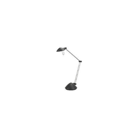 Halogen Black Desk Lamp
