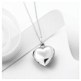 Silver Heart Locket Pendant Reviews