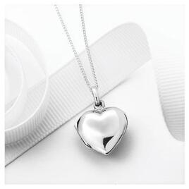 Silver Heart Locket Pendant Reviews