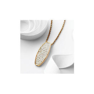 Photo of Pave Petal Fob Pendant Jewellery Woman