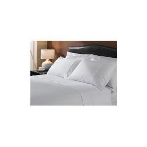 Photo of Hote 5* Squares Duvet Set Kingsize, White Bed Linen