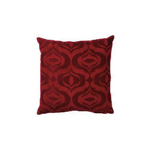 Photo of Tesco Ogee Jacquard Cushion Red, Ryley Cushions and Throw