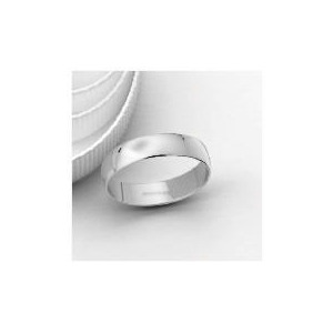 Photo of 18CT White Gold 5MM Wedding Band Jewellery Woman