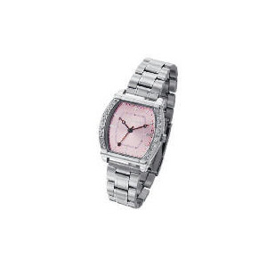 Photo of Pineapple Pink Face Silver Bracelet Watch Watches Man