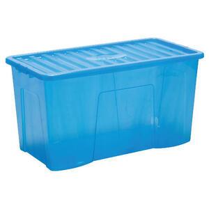 Photo of 110L Blue Storage Box Household Storage