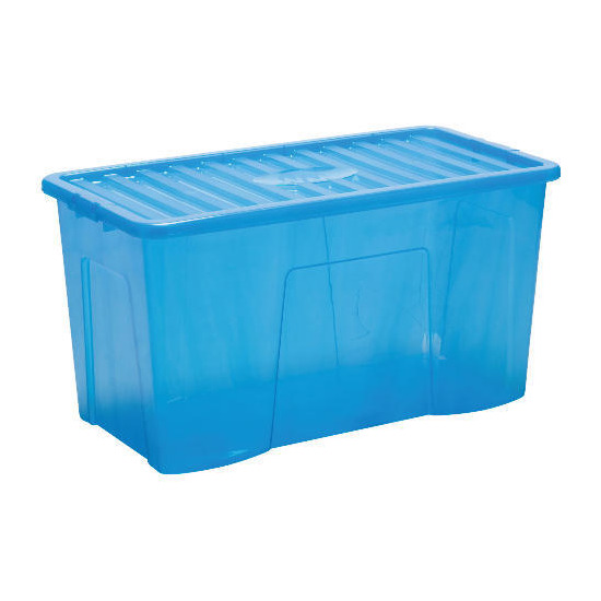 110L blue storage box