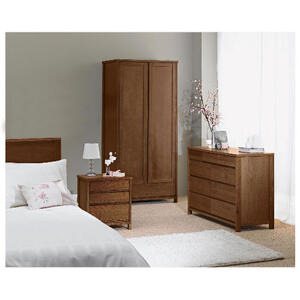 Photo of Monzora Double Wardrobe, Dark Oak Furniture