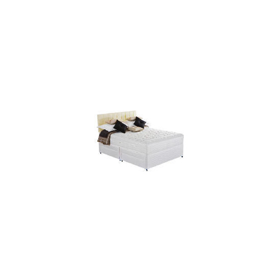 Silentnight Miracoil 7-Zone Latex Boston King 4 Drawer Divan Set