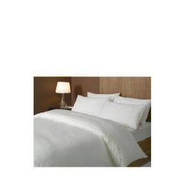 Hotel 5* Squares Duvet Set Double, Cream Reviews
