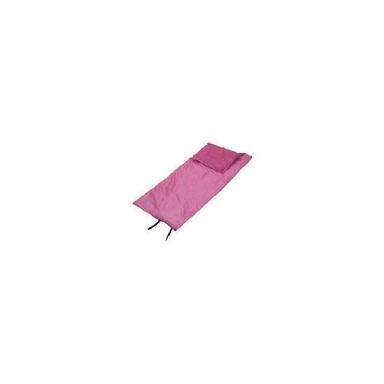 Pink Angels rectangular sleeping bag