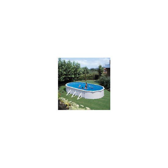 7.3 Steel Wall Oval Pool