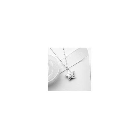 Silver Diamond Set Twinkle Twinkle Locket