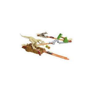 Photo of Hot Wheels Trick Tracks Jurassic Set Toy