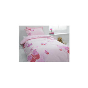 Photo of Tesco Kids Butterfly Lace Single Duvet Bed Linen