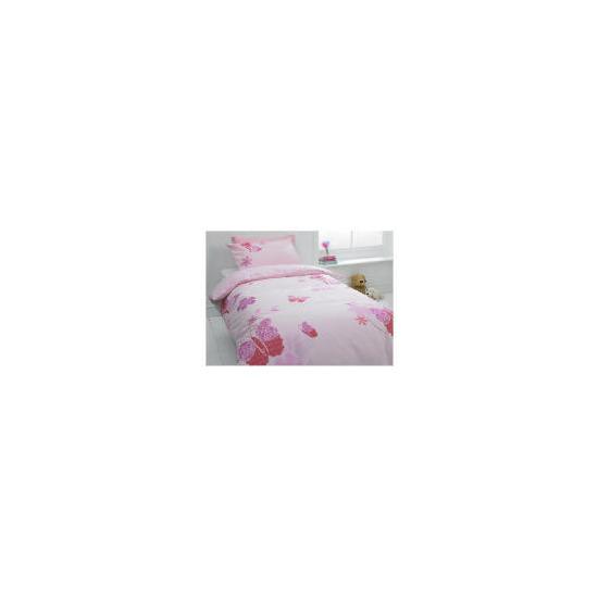 Tesco Kids Butterfly Lace Single Duvet