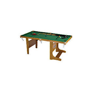Photo of BCE 4FT 6INCH Folding Snooker Table Pool Table