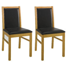 Pair of Hanoi Chairs, oak effect Reviews