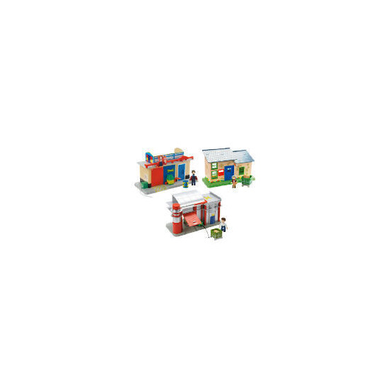 Postman Pat Mini Teds Garage Playset