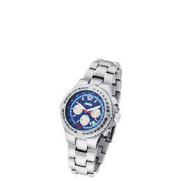 Jeep Mens Blue Face Chronograph Silver Bracelet Watch Reviews