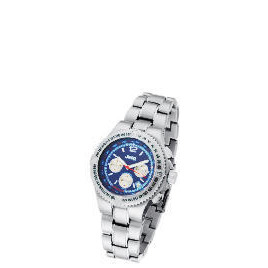 Jeep Mens Blue Face Chronograph Silver Bracelet Watch Reviews