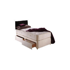Photo of Sealy Classic Ortho Superior Single 2 Drawer Divan Set Bedding