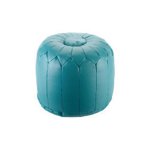 Photo of Tesco Morrocan Pouffe Teal Furniture