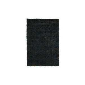 Photo of Tesco Polyester Shaggy Rug Teal,  120X170CM Rug